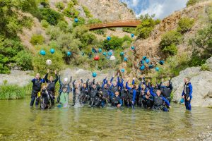 adventure canyoning marbella